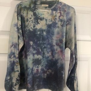 Tow dye boutique sweater